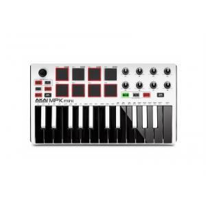AKAI MPK Mini 2 White klawiatura sterująca USB/MIDI