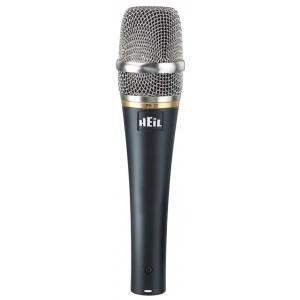 Heil Sound PR 20 B-Stock mikrofon dynamiczny, wymienne siatki ochoronne (czarna, srebrna, złota)