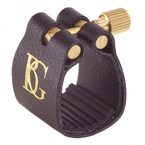 BG L13 Standard ligatura z ochraniaczem do saksofonu  (...)
