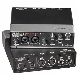 Steinberg UR 22 Mk2 interface