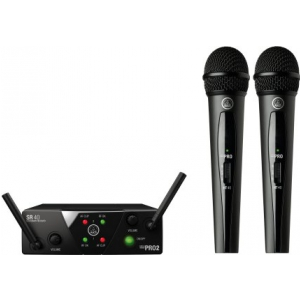 AKG WMS40 mini dual Vocal Set US25 A/C mikrofon  (...)