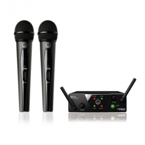 AKG WMS40 mini dual Vocal Set US25 B/D mikrofon  (...)
