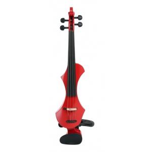 Gewa 401661 skrzypce elektryczne Novita 4/4 (czerwone)