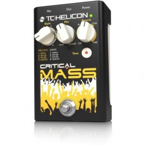 TC Helicon Critical Mass Reverb/Tone procesor wokalowy