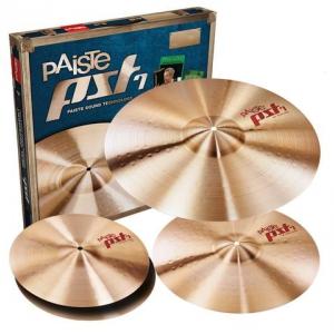 Paiste PST 7  14″HH 16″C 20″R  zestaw talerzy perkusyjnych
