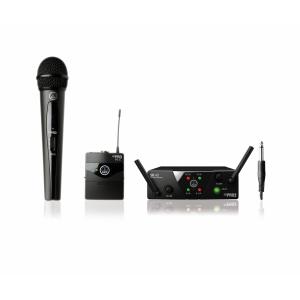 AKG WMS40 mini dual Mix Set US25 A/C zestaw bezprzewodowy  (...)