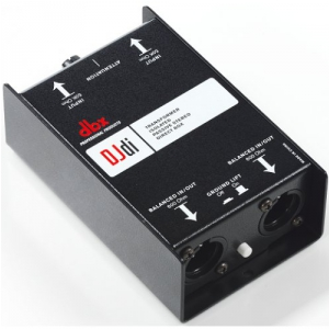 DBX DJDi 2-kanałowy Di-Box pasywny