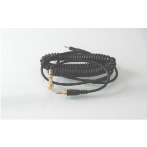 Audio Technica kabel czarny 3m spiralny do słuchawek  (...)