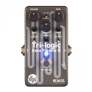 E.W.S. Tri-Logic bass preamp III