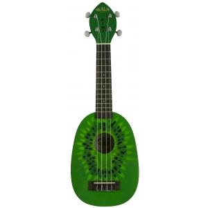 Kala Mahogany Kiwi ukulele sopranowe z pokrowcem