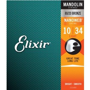 Elixir 11500 Light 10 Mando 8020 NW struny do mandoliny
