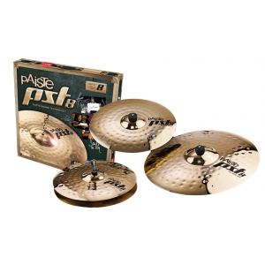 Paiste PST 8 14″HH 16″C 20″R  Rock Set zestaw talerzy  (...)