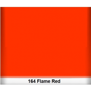 Lee 164 Flame Red filtr barwny folia - arkusz 50 x 60 cm