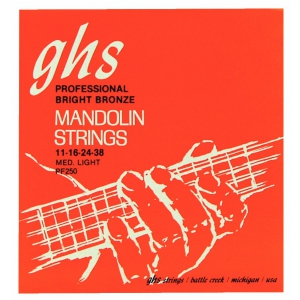 GHS Professional struny do mandoliny, Loop End, Bright  (...)