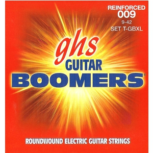 GHS Reinforced Guitar Boomers struny do gitary elektrycznej, Extra Light, .009-.042