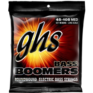 GHS Bass Boomers struny do gitary basowej 4-str. Medium,  (...)