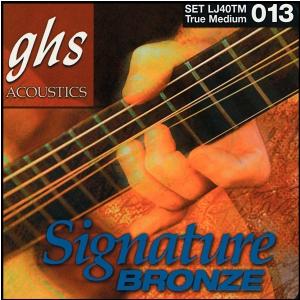 GHS Laurence Juber Signature Bronze struny do gitary akustycznej, True Medium, .013-.056