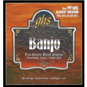 GHS Professional struny do banjo, 5-str. Loop End,  (...)