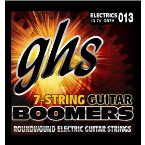 GHS Guitar Boomers struny do gitary elektrycznej, 7-str. Heavy, .013-.074