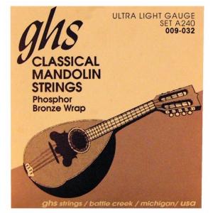 GHS Professional struny do mandoliny, Loop End, Phosphor  (...)