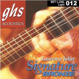 GHS Laurence Juber Signature Bronze struny do gitary akustycznej, Light, .012-.054