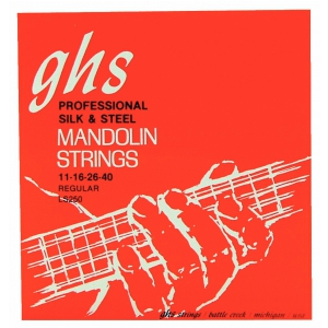 GHS Professional struny do mandoliny, Loop End, Silk and  (...)