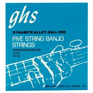 GHS Professional struny do banjo, 5-str. Ball End,  (...)