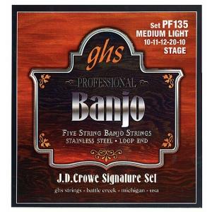 GHS J.D. Crowe Signature struny do banjo, 5-str. Stainless  (...)