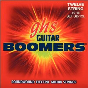 GHS Guitar Boomers struny do gitary elektrycznej, 12-str. Light, .010-.046