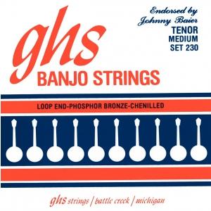 GHS Johnny Baier Signature struny do banjo, 4-String, Loop  (...)