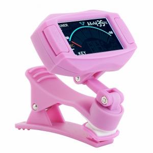 RockTuner CT8 PINK tuner chromatyczny clips, różowy