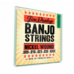 Dunlop Banjo Nickel Strings Tenor 4 Strings struny do  (...)