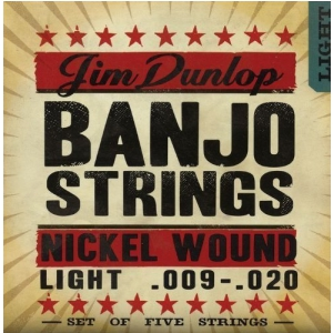 Dunlop Banjo Nickel Strings Light 5 strings struny do  (...)