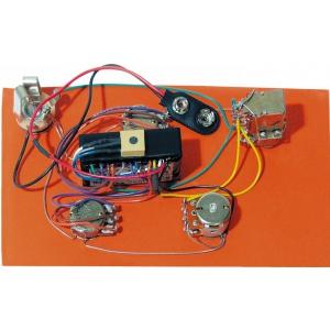 Bartolini HR-4.5AP/918 - Pre-Wired Active/Passive Preamp, 2-Band EQ