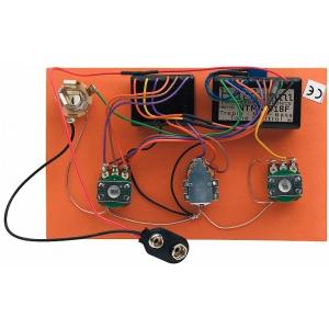 Bartolini HR-3.4/918 - Pre-Wired Active Preamp, 3-Band EQ