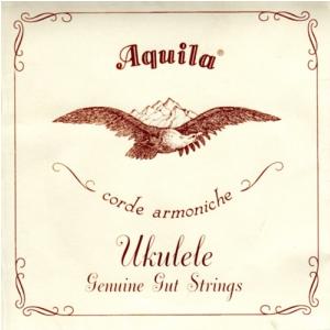 Aquila Genuine Gut Banjo Ukulele Set, GCEA Soprano, high-G