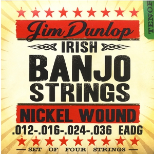 Dunlop Banjo Nickel Strings Irish-Tenor 4 strings struny  (...)