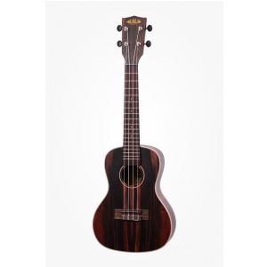 Kala Ebony ukulele koncertowe z pokrowcem
