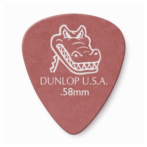 Dunlop 417R Gator Grip kostka gitarowa 0.58mm