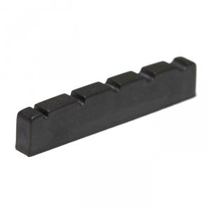 Graphtech Black TUSQ XL PT-1400-00 - Bass Nut, Flat, Slotted, 5-String, 3/16 thick siodełko do gitary
