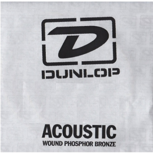 Dunlop Single Str Acoustic Phosphor 054, struna pojedyncza