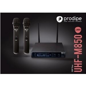 Prodipe M850 DSP DUO UHF mikrofon bezprzewodowy podwójny,  (...)