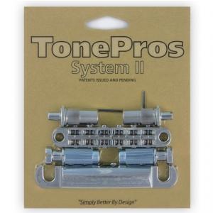 TonePros LPM02-C - Bridge and Tailpiece Set, mostek do gitary, chromowany