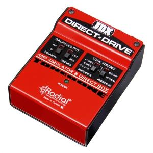 Radial JDX-DIRECT-DRIVE Tonebone JDX Direct Drive Guitar Amp Simulator, efekt gitarowy