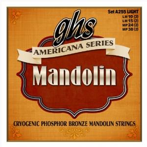 GHS Americana Series - struny do mandoliny, Light, .010-.038