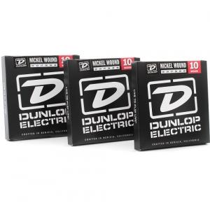 Dunlop Electric Medium 3-Pack struny do gitary elektrycznej 10  46