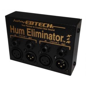 Morley EBTECH Hum Elminator 2 channel Box XLR bramka szumów