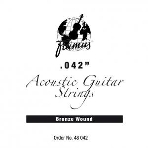 Framus Bronze - struna pojedyncza do gitary akustycznej .042, wound