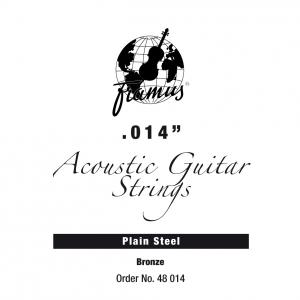 Framus Bronze - struna pojedyncza do gitary akustycznej .014, plain