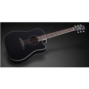 Framus FD 14 S BK CE - Solid Black High Polish + EQ gitara elektroakustyczna